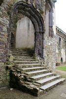 Bishops Palace, St Davids, Pembrokeshire 18 by OghamMoon
