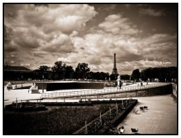Sous le ciel de Paris by S4SH4X