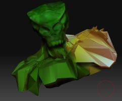 Some kind of alien by hexeno