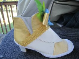 Eternal Sonata Cosplay Shoe (Side View) by cyphris09