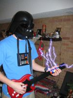 Vader plays Guitar Hero by brckwallgoalie