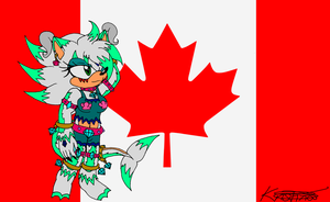 .:Flag Canada:. Dabrina by DarkKittySucker