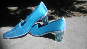 New Elsa shoes by Seras-Loves-Master