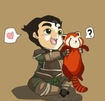 Bolin and Pabu by CrazyKuri-chan