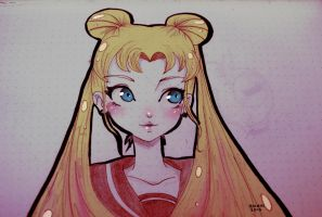 Sailor Moon by Zoehi