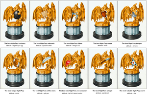 Golden Fury Statues - all categories by DanGref