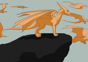King Of All Dragons Request by Kelskora