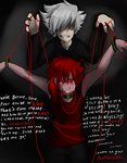 I wanna be your Marionette by moonlightartistry