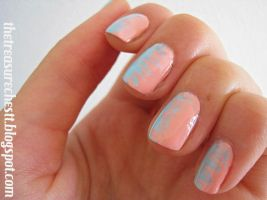 Boy meets Girl Intertwined Nails by IoanaZ