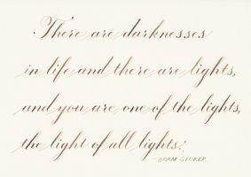 Bram Stoker - Light and Darkness by MShades