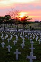 Sunset at Heroes' Cemetery by phtoygraphy