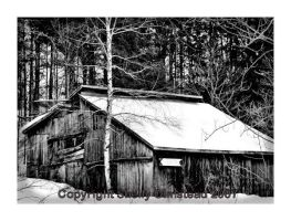 Winter Barn by PoisonAlice