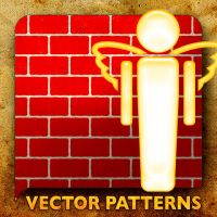 Vector Patterns. Guiding Angel by paradox-cafe