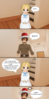How Romano Stole Christmas: Nice Kid by Talawolf2014
