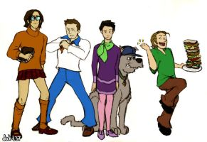 SPN like, zoinks by Dakt37