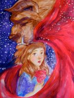 Beauty and the Beast by pebbled
