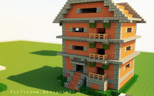 Minecraft Construction #2 by VicTycoon