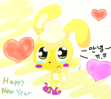 Farewell - happy new year by LOVEHTF421
