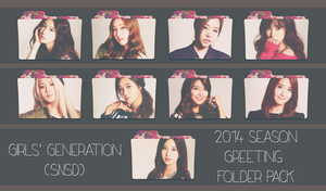 Girls' Generation (SNSD) ~2014 Season Greeting~ by FolderOvert