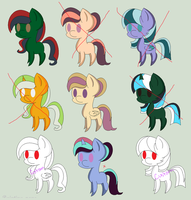 1 Point Pony Adopts 1 (4/9 open) by gayponeadopts