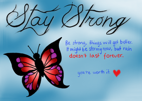 Stay Strong by N0RVV3G14N-G1RL