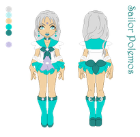 Sailor Polemos Character Sheet by merelei