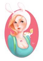 Fionna and Cake by chimpansy