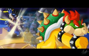 Bowser's Last Punch by Hugo-H2P