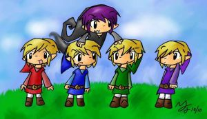 LoZ: 5 is better than 1? by tooncellos219