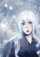 Lady Frost by DinoTurtle