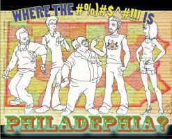 """Where the _ is Philadelphia?"" by WHOLEBIT"