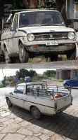 Super rare little Toyota pickup by BlackLeatheredOokami