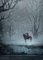 Headless Horseman by jonathanguzi