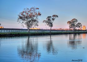 Maribyrnong River Footscray by DanielleMiner