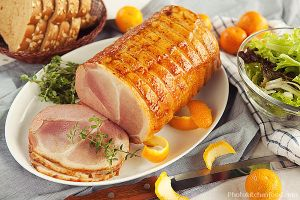 Honey Glazed Ham by peachjuice