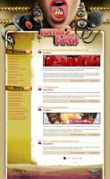 Jump2beat web-site by BraveDesign