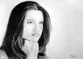 Adriana Lima drawing by caiusaugustus