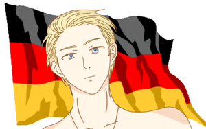 Hetalia : Germany by Raveirre