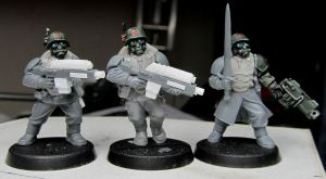Pre paint new stormtroopers by Durnstaros