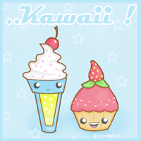 Kawaii contest entry by steffne