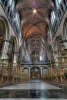 Brugge Cathedral by DDr3ams