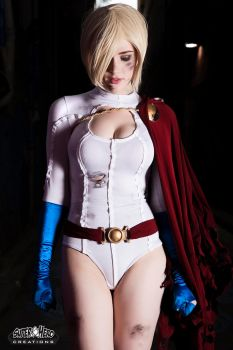 Power Girl by MrAdamJay