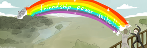 XMEN- The Power of Friendship by annit-the-conqueror