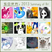 2013 summary of art by gamakichisora