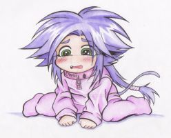 CHIBI CASSIEL CRY by CAVAFERDI