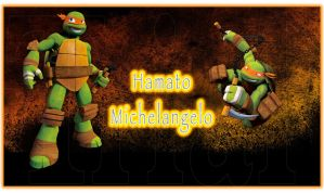 Hamato Michelangelo by YAYProductions