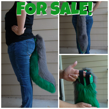 Fursuit Tail: FOR SALE! by Chibemo