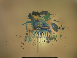 Ronaldinho - Wallpaper by lebthug23