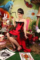 Pin Up Queen of Hearts 3 by ThePrincessNightmare