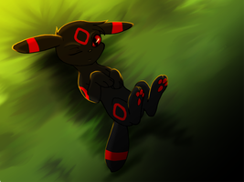 Umbreon commish by ThaMutt